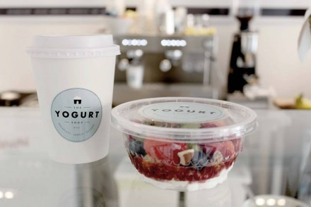 The yogurt shop kopenhagen