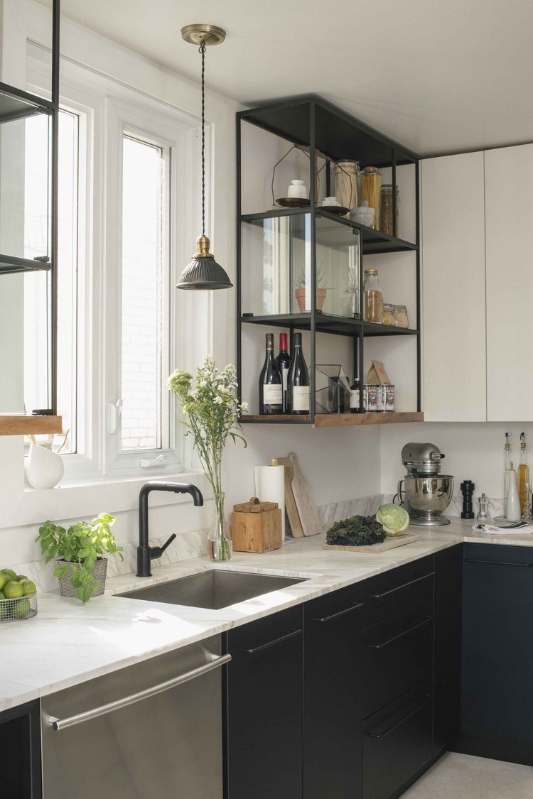 Ikea kitchen shelve hack fika magazine